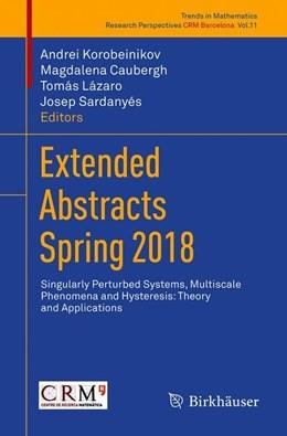 Abbildung von Korobeinikov / Caubergh | Extended Abstracts Spring 2018 | 1. Auflage | 2019 | 11 | beck-shop.de