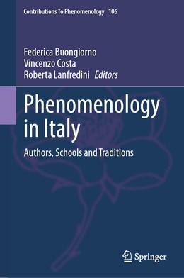 Abbildung von Buongiorno / Costa / Lanfredini | Phenomenology in Italy | 2020 | Authors, Schools and Tradition... | 106