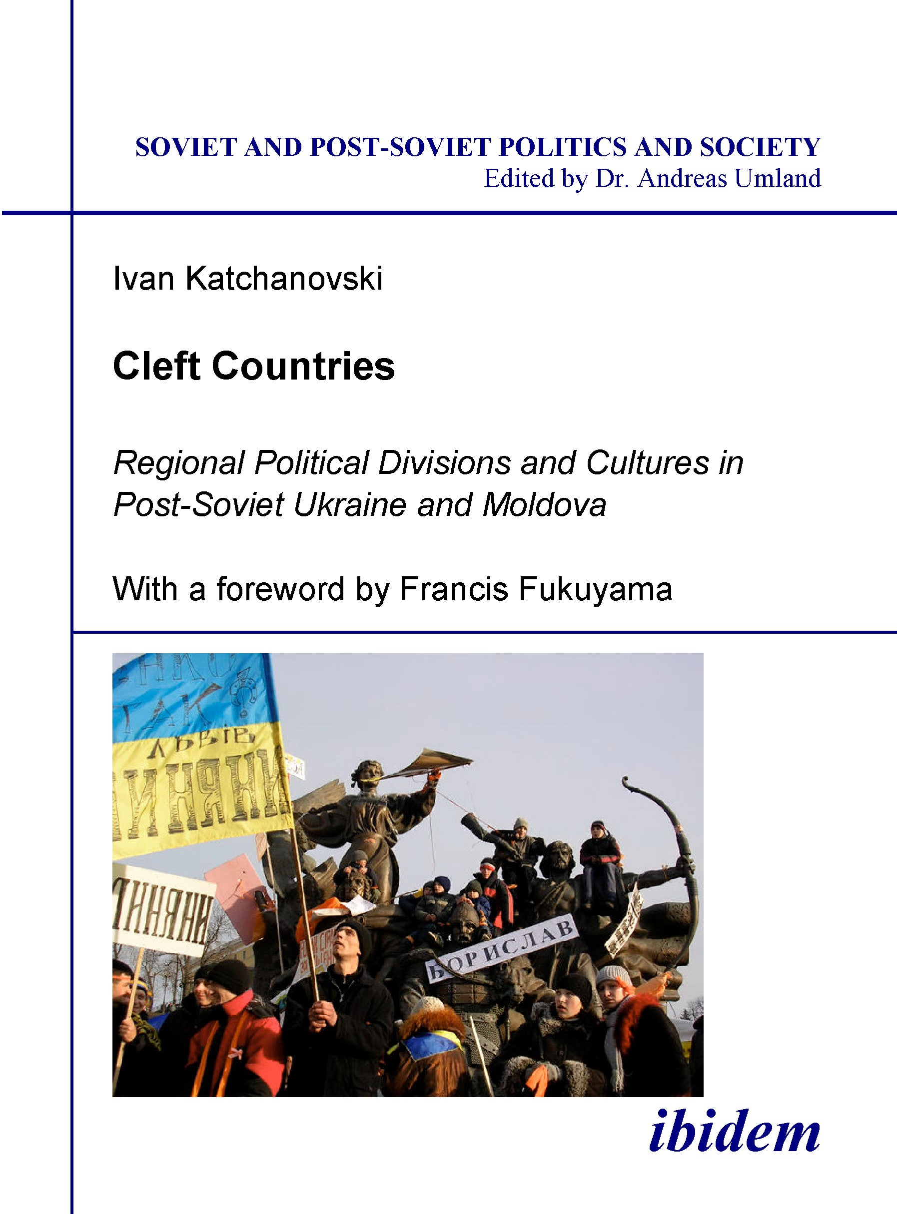 Cleft Countries | Katchanovski, 2006 (Cover)