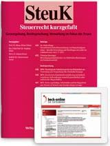 SteuK • Steuerrecht kurzgefaßt | 8. Jahrgang (Cover)
