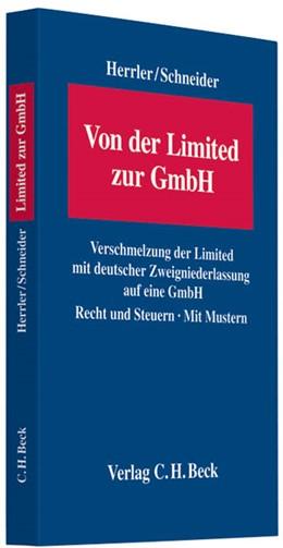 Abbildung von Herrler / Schneider | Von der Limited zur GmbH | 2010 | Verschmelzung der Limited mit ...