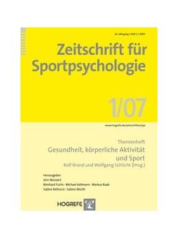 Abbildung von Brand / Schlicht | Zeitschrift für Sportpsychologie / Zeitschrift für Sportpsychologie | 2007