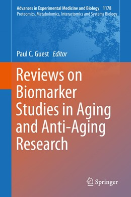 Abbildung von Guest | Reviews on Biomarker Studies in Aging and Anti-Aging Research | 1st ed. 2019 | 2019