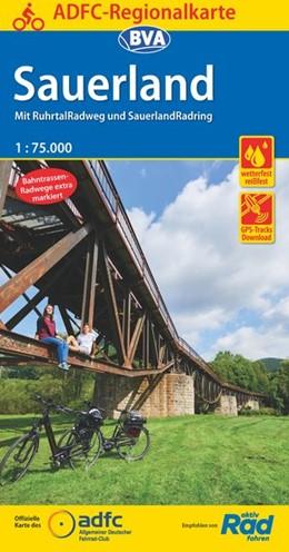 Abbildung von ADFC-Regionalkarte Sauerland mit Tagestouren-Vorschlägen, 1:75.000, reiß- und wetterfest, GPS-Tracks Download | 5. Auflage | 2019 | beck-shop.de