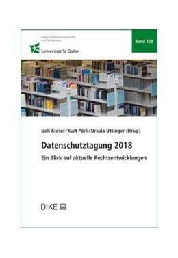 Abbildung von Datenschutztagung 2018 | 1. Auflage | 2019 | Band 108 | beck-shop.de