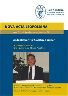 Abbildung von Hacker / Peschke   Gedenkfeier für Gottfried Geiler   1. Auflage   2019   36   beck-shop.de