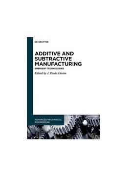 Abbildung von Davim   Additive and Subtractive Manufacturing   1. Auflage   2020   beck-shop.de