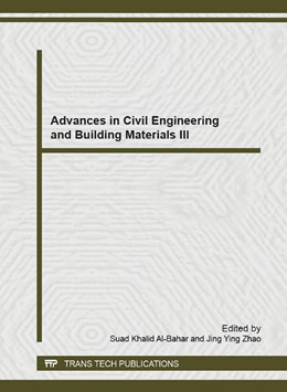 Abbildung von Al-Bahar / Zhao | Advances in Civil Engineering and Building Materials III | 2014 | Volume 831