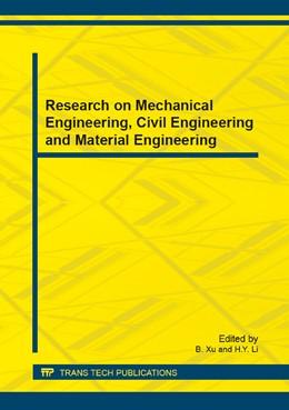 Abbildung von Xu / Li | Research on Mechanical Engineering, Civil Engineering and Material Engineering | 2014 | Volume 454