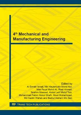 Abbildung von Ismail / Muhd Nor | 4th Mechanical and Manufacturing Engineering | 1. Auflage | 2014 | Volumes 465-466 | beck-shop.de