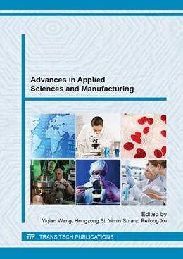Abbildung von Wang / Si | Advances in Applied Sciences and Manufacturing | 1. Auflage | 2014 | Volumes 850-851 | beck-shop.de