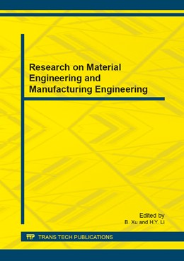 Abbildung von Xu / Li | Research on Material Engineering and Manufacturing Engineering | 2014 | Volume 468
