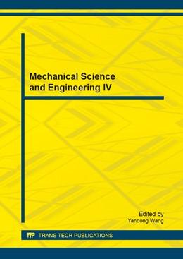 Abbildung von Wang | Mechanical Science and Engineering IV | 1. Auflage | 2014 | Volume 472 | beck-shop.de