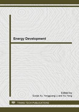 Abbildung von Xu / Li / Yang | Energy Development | 2014 | Volumes 860-863
