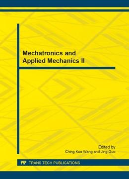Abbildung von Wang / Guo | Mechatronics and Applied Mechanics II | 1. Auflage | 2013 | Volumes 300-301 | beck-shop.de