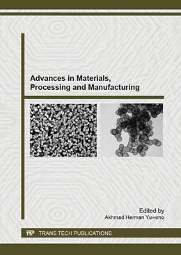 Abbildung von Yuwono | Advances in Materials, Processing and Manufacturing | 2013 | Volume 789