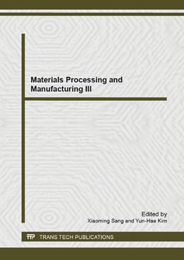 Abbildung von Sang / Kim   Materials Processing and Manufacturing III   2013   Volumes 753-755