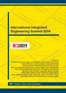 Abbildung von Ismail / Khalid   International Integrated Engineering Summit 2014   1. Auflage   2015   Volumes 773-774   beck-shop.de