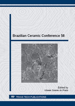 Abbildung von do Prado | Brazilian Ceramic Conference 58 | 1. Auflage | 2015 | Volume 820 | beck-shop.de