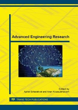 Abbildung von Siritaratiwat / Kruesubthaworn | Advanced Engineering Research | 1. Auflage | 2015 | Volume 781 | beck-shop.de