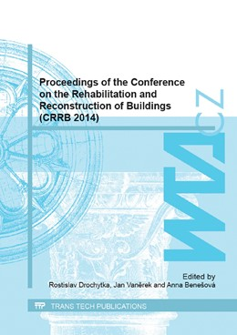 Abbildung von Drochytka / Vanerek | Proceedings of the Conference on the Rehabilitation and Reconstruction of Buildings (CRRB 2014) | 1. Auflage | 2015 | Volume 1122 | beck-shop.de