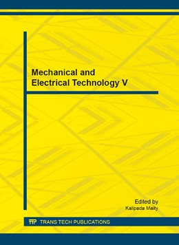 Abbildung von Maity | Mechanical and Electrical Technology V | 2013 | Volume 392