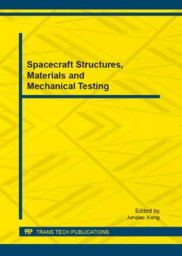 Abbildung von Xiong | Spacecraft Structures, Materials and Mechanical Testing | 2013 | Volume 290