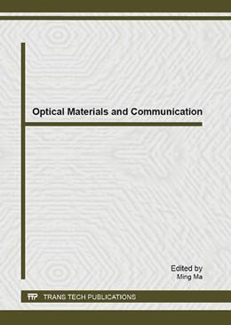 Abbildung von Ma | Optical Materials and Communication | 1. Auflage | 2013 | Volume 679 | beck-shop.de