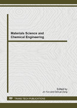 Abbildung von Yun / Zeng | Materials Science and Chemical Engineering | 2013 | Volume 699