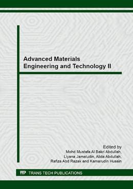 Abbildung von Abdullah / Jamaludin | Advanced Materials Engineering and Technology II | 1. Auflage | 2014 | Volumes 594-595 | beck-shop.de