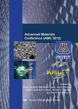 Abbildung von Ibrahim / Saleh | Advanced Materials Conference (AMC 2012) | 1. Auflage | 2014 | Volume 879 | beck-shop.de