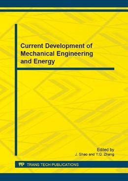Abbildung von Shao / Zhang | Current Development of Mechanical Engineering and Energy | 1. Auflage | 2014 | Volumes 494-495 | beck-shop.de