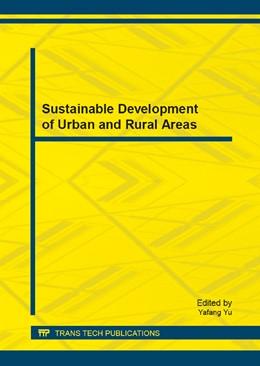 Abbildung von Yu | Sustainable Development of Urban and Rural Areas | 2014 | Volume 507