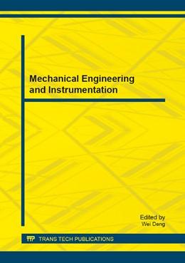 Abbildung von Deng | Mechanical Engineering and Instrumentation | 1. Auflage | 2014 | Volume 526 | beck-shop.de