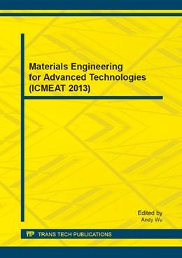 Abbildung von Wu   Materials Engineering for Advanced Technologies (ICMEAT 2013)   2014   Volume 510