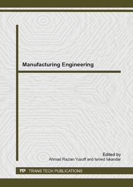 Abbildung von Yusoff / Iskandar | Manufacturing Engineering | 2014 | Volume 903