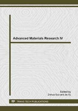 Abbildung von Guo / Xu | Advanced Materials Research IV | 1. Auflage | 2014 | Volume 894 | beck-shop.de