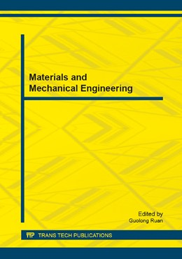 Abbildung von Ruan | Materials and Mechanical Engineering | 1. Auflage | 2014 | Volume 528 | beck-shop.de
