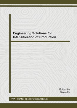 Abbildung von Xu | Engineering Solutions for Intensification of Production | 2014 | Volume 902