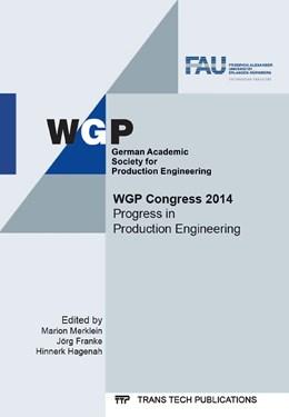 Abbildung von Merklein / Franke / Hagenah | WGP Congress 2014 | 2014 | Volume 1018