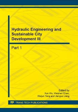 Abbildung von Wu / Chen / Yang / Liang | Hydraulic Engineering and Sustainable City Development III | 2014 | Volumes 641-642