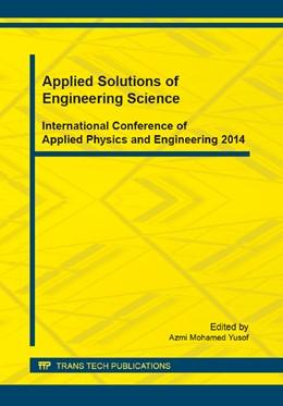 Abbildung von Yusof | Applied Solutions of Engineering Science | 2014 | Volume 661