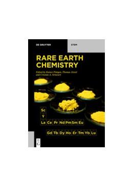 Abbildung von Pöttgen / Jüstel   Rare Earth Chemistry   1. Auflage   2020   beck-shop.de