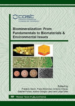 Abbildung von Marin / Br?mmer / Checa / Furtos / Lesci / ?iller | Biomineralization: From Fundamentals to Biomaterials & Environmental Issues | 2016 | Volume 672