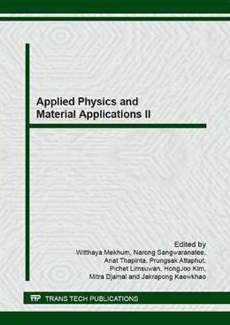 Abbildung von Mekhum / Sangwaranatee / Thapinta / Attaphut / Limsuwan / Kim / Djamal / Kaewkhao | Applied Physics and Material Applications II | 2016 | Volumes 675-676