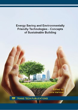 Abbildung von Mankov? | Energy Saving and Environmentally Friendly Technologies - Concepts of Sustainable Building | 2016 | Volume 824