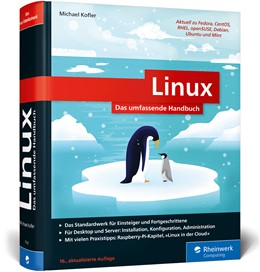 Abbildung von Kofler | Linux | 16. Auflage | 2019 | Das umfassende Handbuch von Mi...