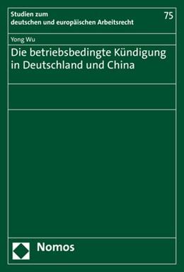Abbildung von Wu   Die betriebsbedingte Kündigung in Deutschland und China   2019   75