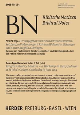 Abbildung von Egger-Wenzel / Reif | Religious Identity Markers | 1. Auflage | 2015 | beck-shop.de