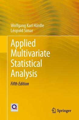 Abbildung von Härdle / Simar | Applied Multivariate Statistical Analysis | 5th ed. 2019 | 2019
